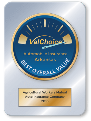AgWorkers Mutual Insurance Company, a best value company for car insurance in Arkansas, 2016