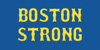 Boston Strong image that became commonly displayed after the Boston Marathon bombing