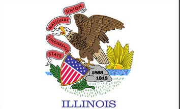 The Illinois state flag is the image for the Illinois insurance page on the ValChoice website