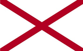The Alabama state flag is the image for the Alabama insurance page