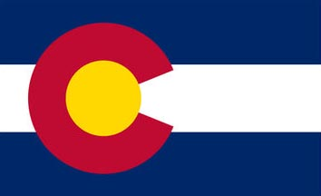 The Colorado state flag is the image for the Colorado insurance page on the ValChoice website