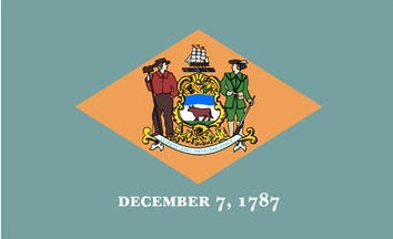 The Delaware state flag is the image for the Delaware insurance information page on the ValChoice website