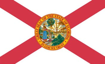 The Florida state flag is the image for the Florida insurance page on the ValChoice website