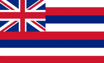 The Hawaii state flag is the image for the Hawaii insurance information page on the ValChoice website