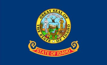 The Idao state flag is the image for the Idaho insurance information page on the ValChoice website