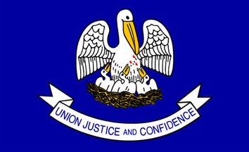 The Louisiana state flag is the image for the Louisiana insurance page on the ValChoice website