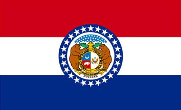 The Missouri state flag is the image for the Missouri insurance page on the ValChoice website