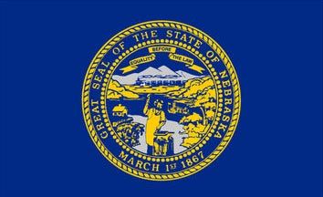 The Nebraska state flag is the image for the Nebraska insurance page on the ValChoice website
