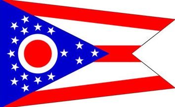 The Ohio state flag is the image for the Ohio insurance information page on the ValChoice website