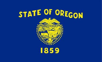 The Oregon state flag is the image for the Oregon insurance information page on the ValChoice website