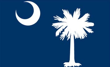 The South Carolina state flag is the image for the South Carolina insurance information page on the ValChoice website