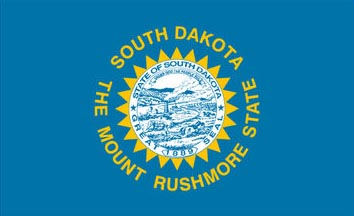 The South Dakota state flag is the image for the South Dakota insurance page on the ValChoice website