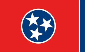The Tennessee state flag is the image for the Tennessee insurance information page on the ValChoice website