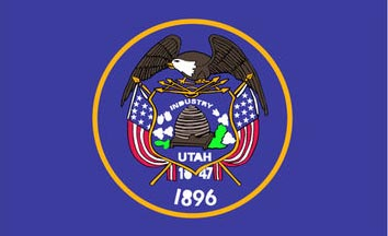 The Utah state flag is the image for the Utah insurance page on the ValChoice website