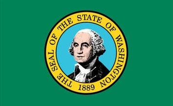 The Washington state flag is the image for the Washington insurance information page on the ValChoice website