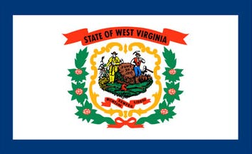 The West Virginia state flag is the image for the West Virginia insurance page on the ValChoice website