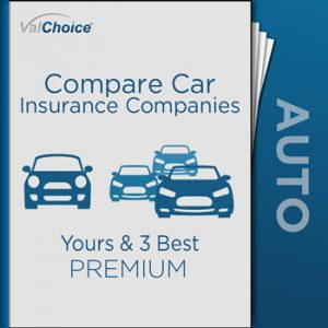 The Compare Car Insurance Companies Report compares Your Car Insurance Company to Three of the Best