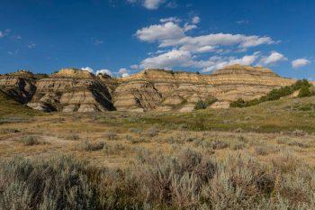 Badlands of North Dakota. Image for Find North Dakota Insurance Agents web page on ValChoice.com