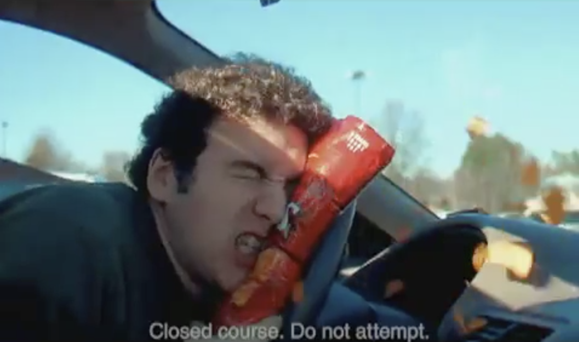 "Best Super Bowl Ads. Image taken from Doritos ""Live the Flavor"" ad in 2007."