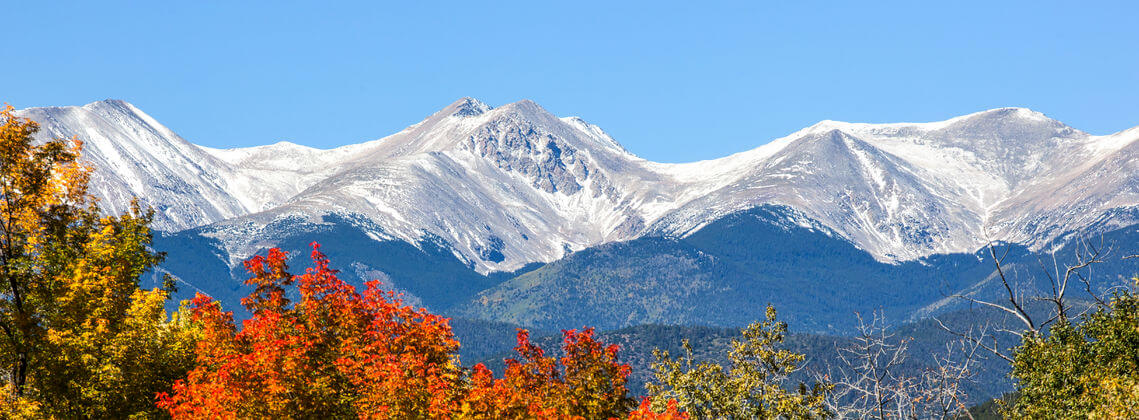 Image of Fall Colors and First Snow for Find Insurance Agents in Colorado Web Page