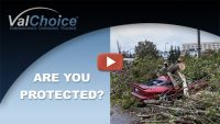 "Cover image for ValChoice video on ""Full Coverage"" insurance and what it means to have collision and comprehensive insurance in addition to liability insurance."
