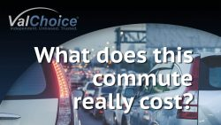Video image for ValChoice video on what does commuting to work really cost?